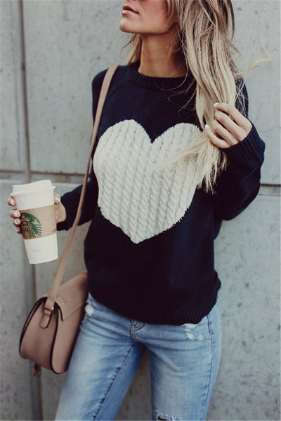 Sherobikini Heart Beat Love Sweater