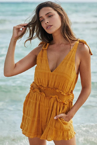 Sherobikini Sexy Strap Sleeveless Shorts Rompers