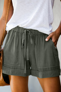 Sherobikini Sage Strive Pocketed Tencel Casual Shorts