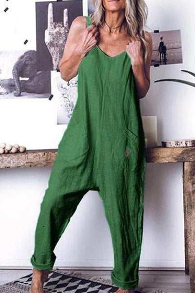 Sherobikini High Waist Sleeveless Jumpsuits