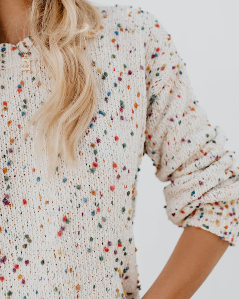 Sherobikini Colorful Wave Dot Sweater