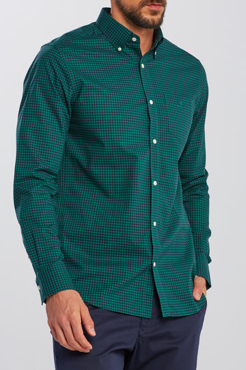 GANT KOŠULJA 3064002 Slim Fit 2-Color Gingham Broadcloth
