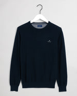 GANT COTTON PIQUE C-NECK PULOVER 8030521