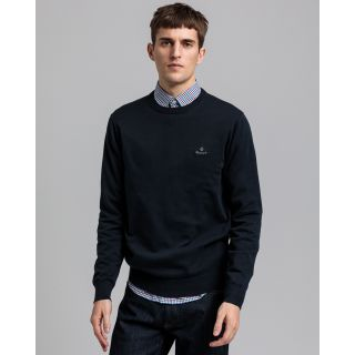 GANT PULOVER 8030541 Classic Cotton Crew Neck