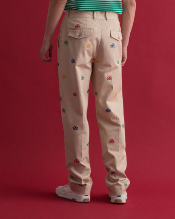 GANT CREST EMBROIDERY CHINO HLAČE 1500186