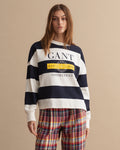GANT STRIPED NAUTICAL C-NECK PULOVER 4201602