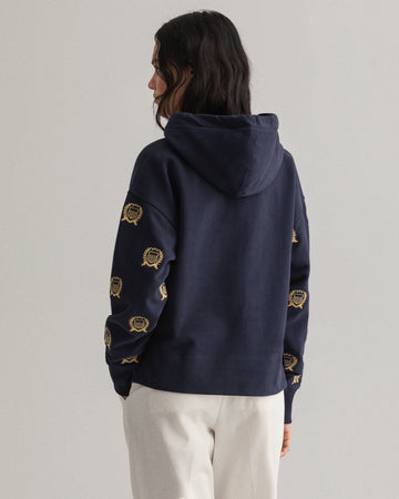 GANT CREST EMBROIDERY HOODIE/PULOVER 4203660