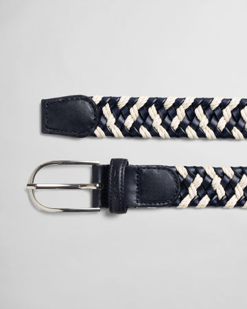 GANT ROPE LEATHER BRAID REMEN 4940159