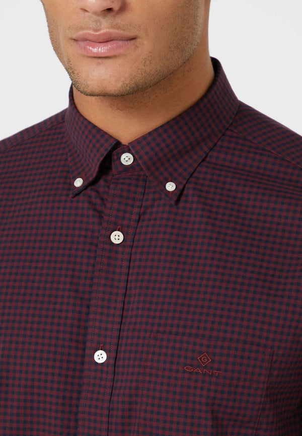 GANT KOŠULJA 3064000 Regular Fit 2-Color Gingham Broadcloth