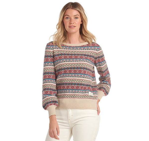 BARBOUR PULOVER  Laura Ashley Poplars Sweater BRLKN1089