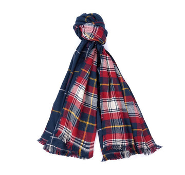 BARBOUR ŠAL  Brecon Reversible Check Scarf  BRLSC0303