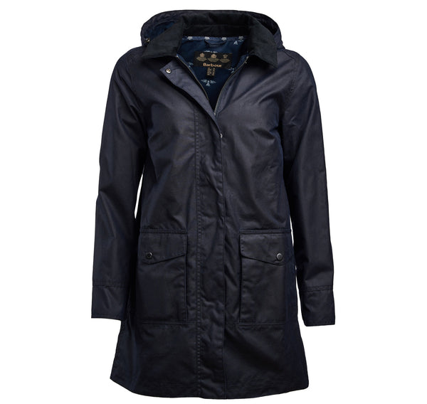 BARBOUR JAKNA BRLWX0966 Oyster Waxed Cotton