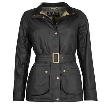 BARBOUR JAKNA MONTGOMERY WAXED COTTON BRLWX1078