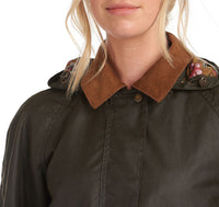BARBOUR JAKNA LAURA ASHLEY YEWS WAXED COTTON BRLWX1079