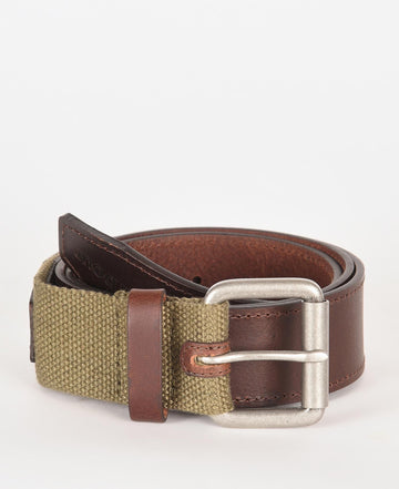 BARBOUR WEBBING/LEATHER REMEN MAC0417