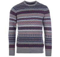 BARBOUR PULOVER Case Fairisle Crew Neck Sweater BRMKN1027
