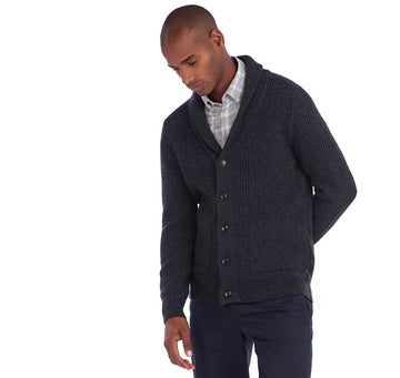 BARBOUR PULOVER Findlay Button Through Sweater BRMKN1265