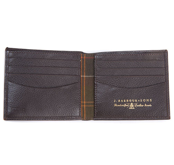 BARBOUR AMBLE LEATHER BILLFOLD NOVČANIK MLG0007