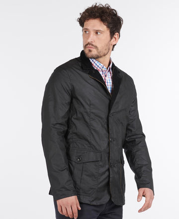 BARBOUR LIGHTWEIGHT SANDER WAXED COTTON JAKNA MWX1466