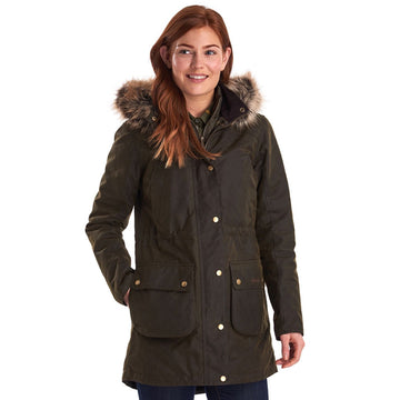 BARBOUR JAKNA BRLWX0962 Thrunton Wax Cotton
