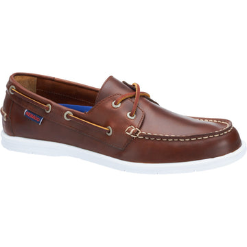 SEBAGO Litesides Two Eye BROWN OLIED WAXY (B864068)