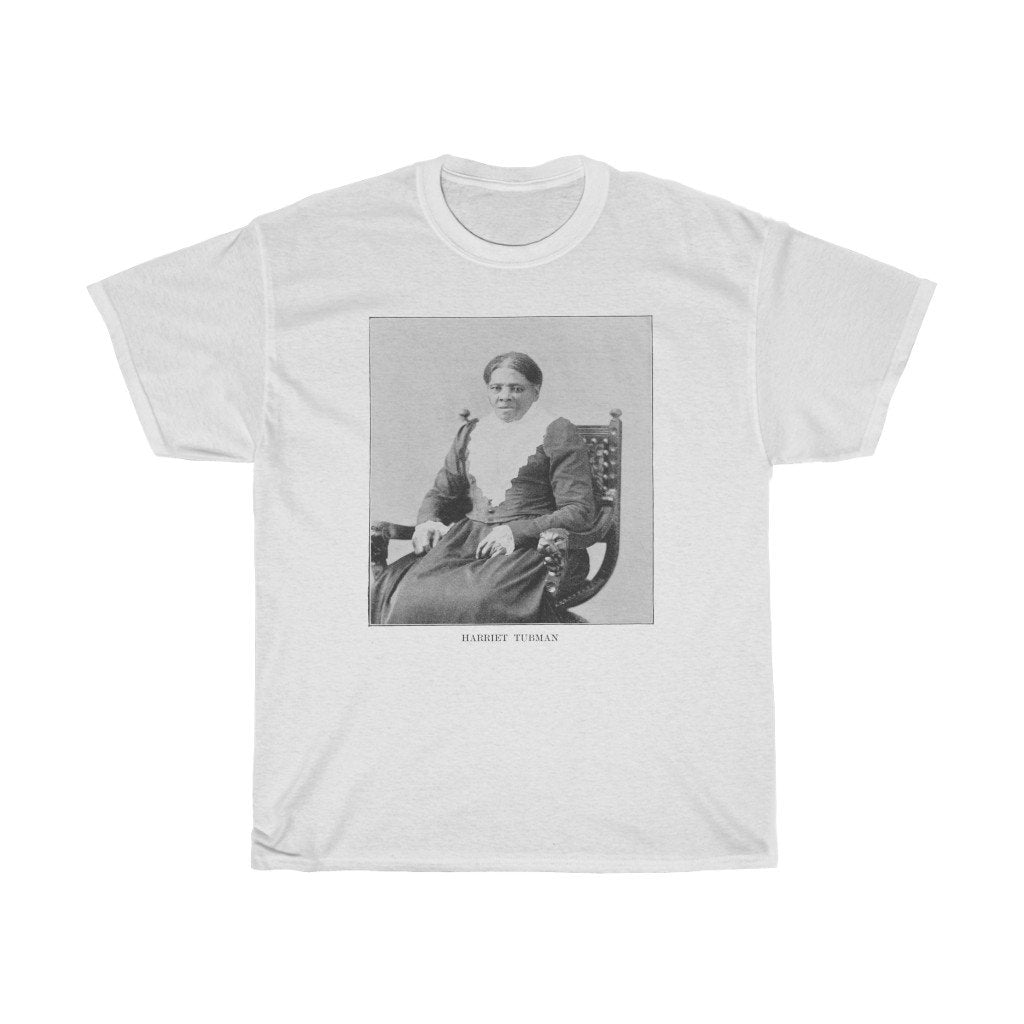 Harriet Tubman - Heavy Cotton Tee - Artichokes For Dinner • T-Shirts
