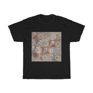 Ceiling painting from the palace of Amenhotep III - Heavy Cotton Tee - Artichokes For Dinner • T-Shirts