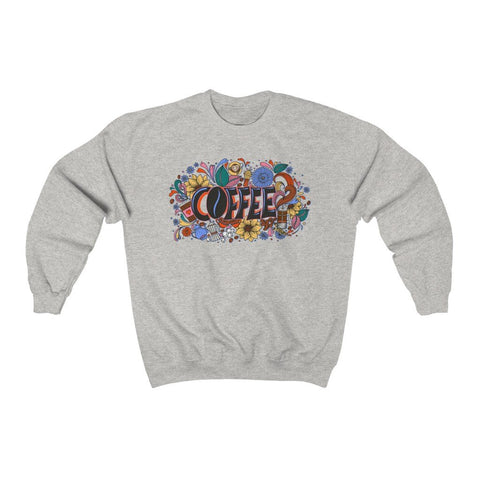 """Coffee"" - Heavy Blend Crewneck Sweatshirt - Artichokes For Dinner • T-Shirts"