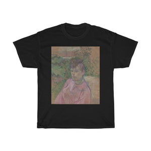 Henri de Toulouse-Lautrec - Woman in the Garden of Monsieur Forest - Heavy Cotton Tee - Artichokes For Dinner • T-Shirts