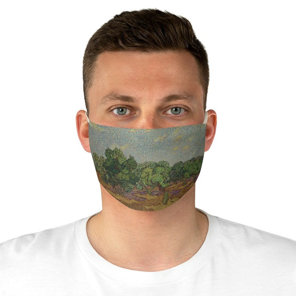 Vincent van Gogh - Olive Trees - Fabric Face Mask - Artichokes For Dinner • T-Shirts