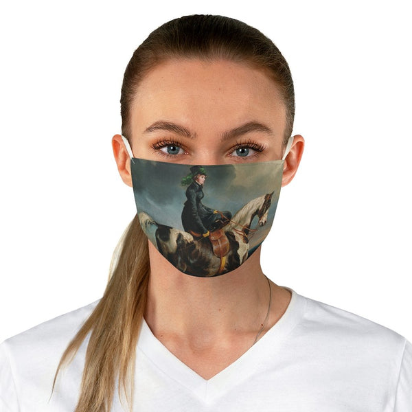 Théodore Gericault - Horsewoman - Fabric Face Mask - Artichokes For Dinner • T-Shirts