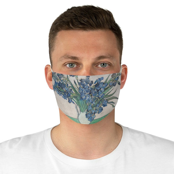 Vincent van Gogh T Shirt - Irises - Non-Surgical Fabric Face Mask - Artichokes For Dinner • T-Shirts