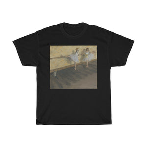 Edgar Degas - Dancers Practicing at the Barre - Cotton Tee - Artichokes For Dinner • T-Shirts