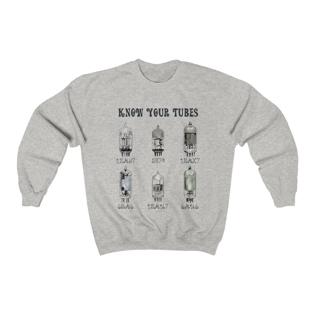 """Know Your Tubes"" - Heavy Blend Crewneck Sweatshirt - Artichokes For Dinner • T-Shirts"