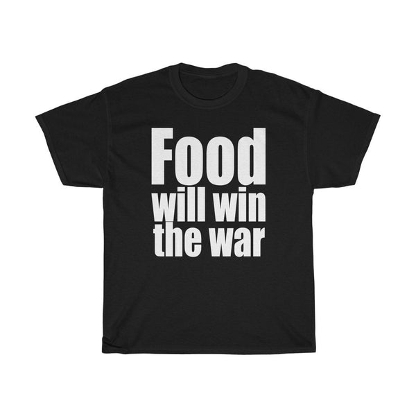 """Food Will Win The War"" - Heavy Cotton Tee - Food Shirts - Artichokes For Dinner • T-Shirts"
