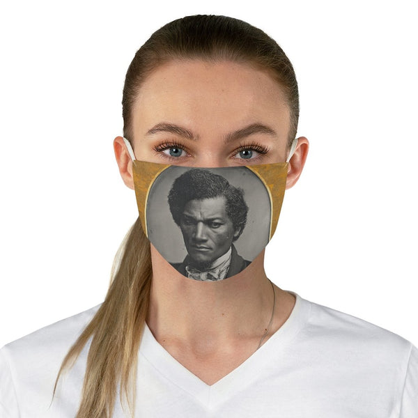 Frederick Douglass - Non-Surgical Fabric Face Mask - Artichokes For Dinner • T-Shirts