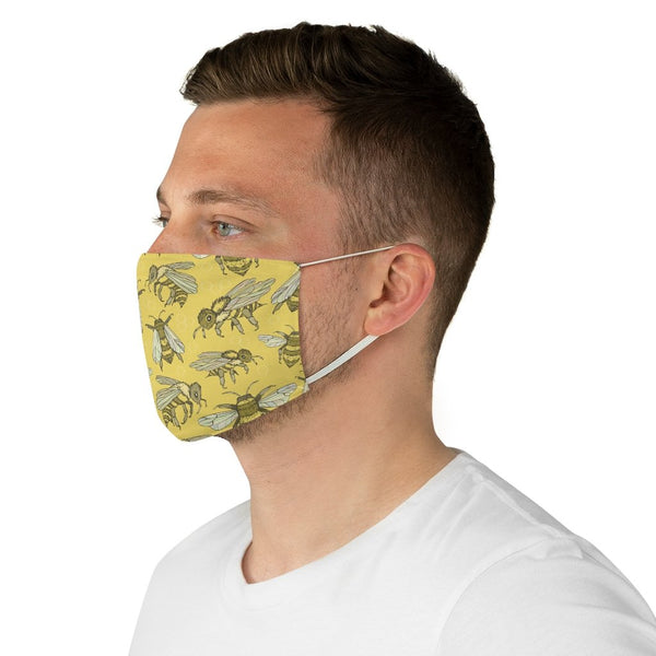 Yellow Bees - Non-Surgical Fabric Face Mask - Bees Mask