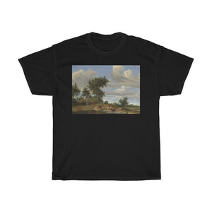 Salomon van Ruysdael - A Country Road - Heavy Cotton Tee - Artichokes For Dinner • T-Shirts