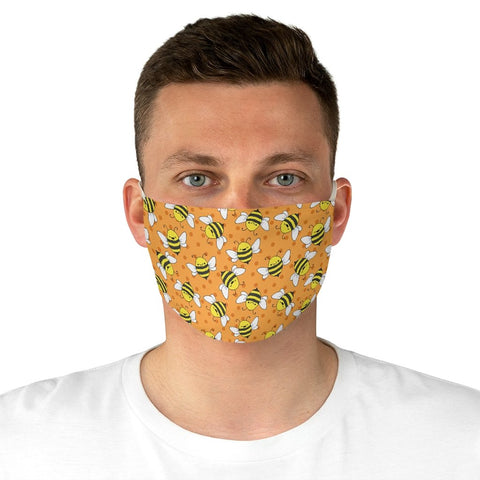 Happy Bees - Fabric Face Mask - Artichokes For Dinner • T-Shirts