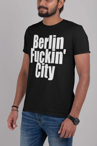 """Berlin Fuckin' City"" - Heavy Cotton Tee - Berlin Pride - Artichokes For Dinner • T-Shirts"