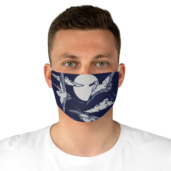 Flying Cranes Tile - Face Mask - Artichokes For Dinner • T-Shirts