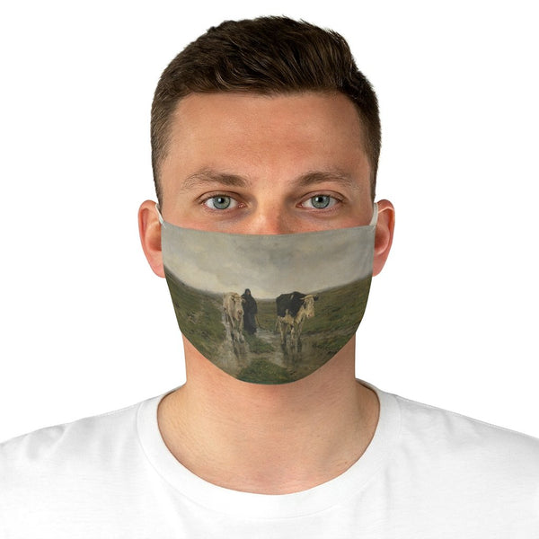 Anton Mauve - Changing Pasture - Fabric Face Mask - Artichokes For Dinner • T-Shirts