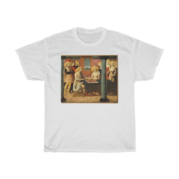 Liberale da Verona - The Chess Players - Heavy Cotton Tee - Artichokes For Dinner • T-Shirts