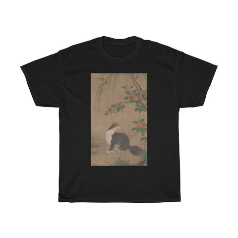 Uto Gyoshi - Musk Cat - Heavy Cotton Tee - Artichokes For Dinner • T-Shirts