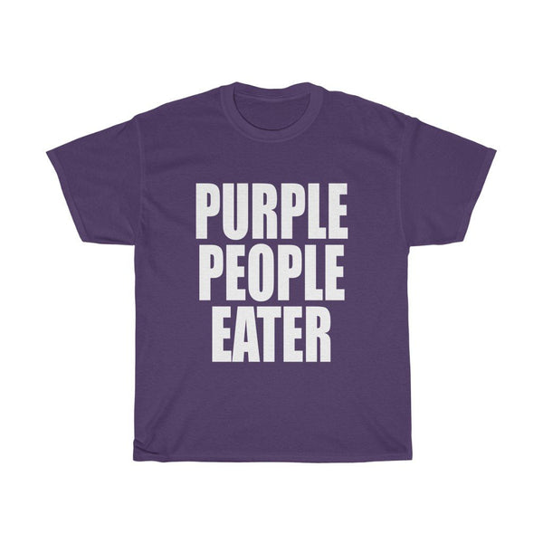 """Purple People Eater"" - Heavy Cotton Tee - Purple Personality - Artichokes For Dinner • T-Shirts"