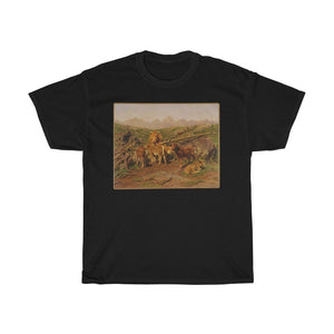 Rosa Bonheur - Weaning the Calves - Heavy Cotton Tee - Artichokes For Dinner • T-Shirts