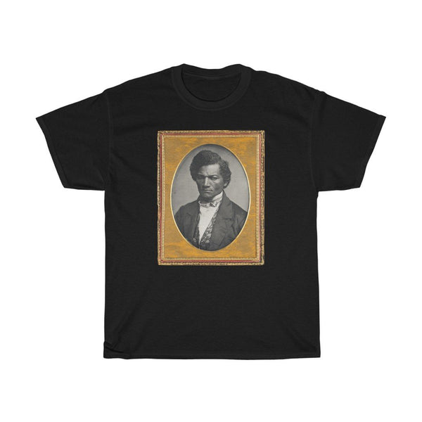 Frederick Douglass - Heavy Cotton Tee - Frederick Douglass Shirts - Artichokes For Dinner • T-Shirts