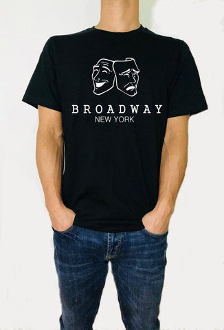 Broadway New York -  T-Shirt - Brooklyn T Factory