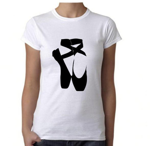 Ballet Shoes -  T-Shirt - Brooklyn T Factory