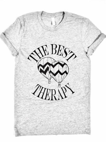 The Best Therapy Aerostatic Balloons -  T-Shirt - Brooklyn T Factory